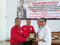 MPR RI Bersama GPN Provinsi Lampung Sosialisasikan 4 Pilar Kebangsaan