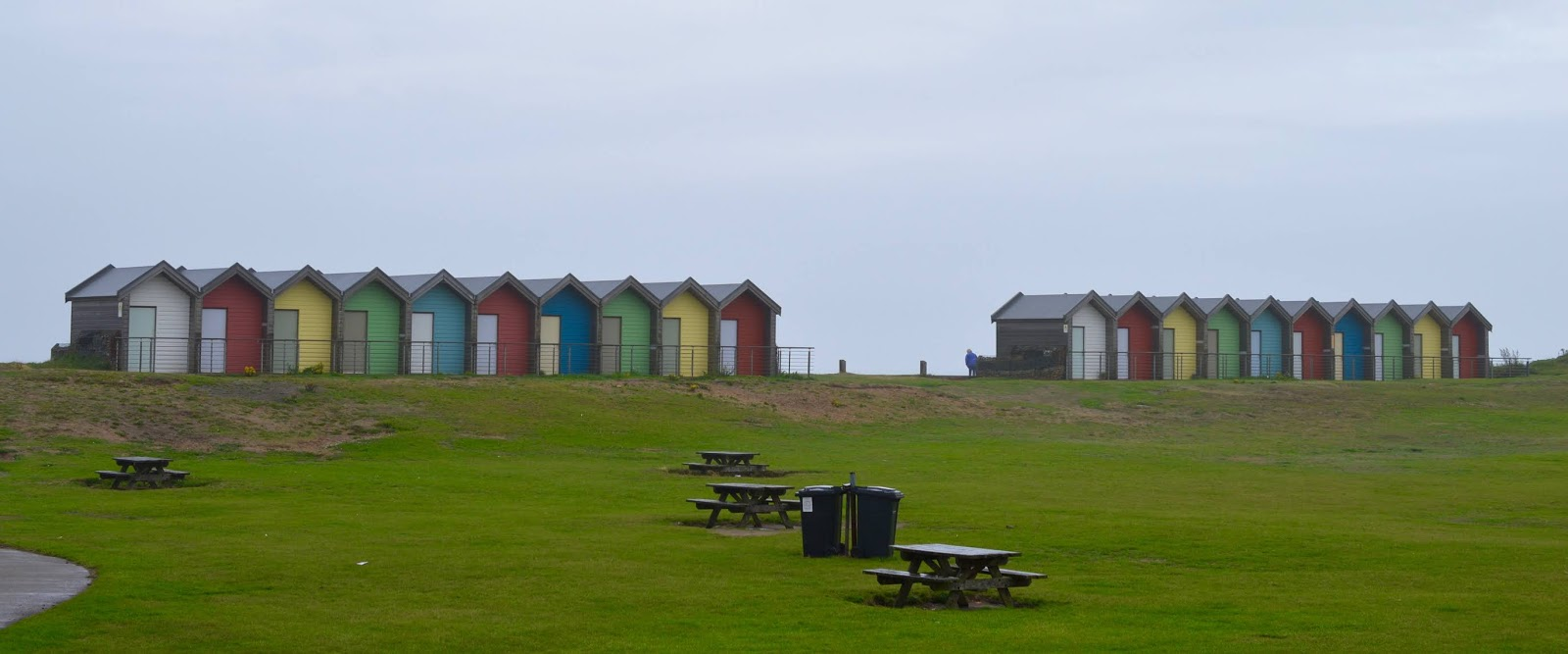 Coastal Adventures in Northumberland with Parkdean Resorts - blyth beach huts