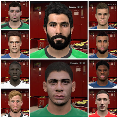 PES 2016 Internarional facepack vol. 5 by Kruptsev