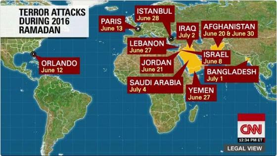 CNN informe Sesgado sobre Terrorismo en Ramadan, omite Judea y Samaria