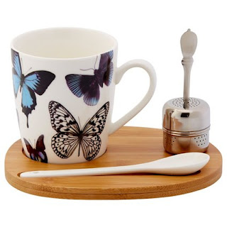 Butterfly Tea Set