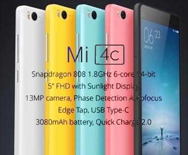 Mi4c specs
