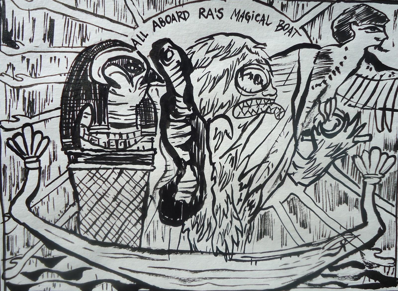 Rusty Nail Studio: Monster Island Funnies #1: Legend of Mothman and