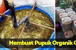 Super Lengkap !! Cara Membuat Pupuk Organik Cair Dari Kotoran Hewan