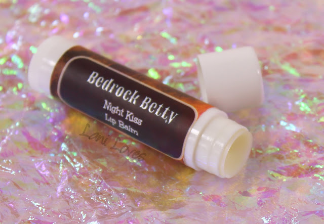 Notoriously Morbid Night Kiss Lip Balm - Bedrock Betty Review