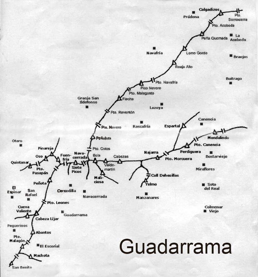 grupo senderismo 2001  sierra  u0026 fuentes de guadarrama