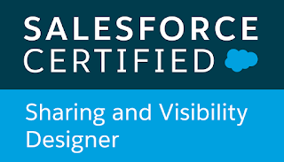 Salesforce Certified Sharing and Visibility Designer verification for Richard Upton