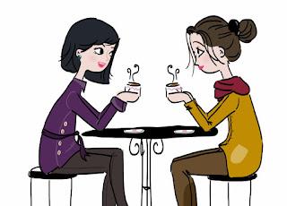 café con amiga