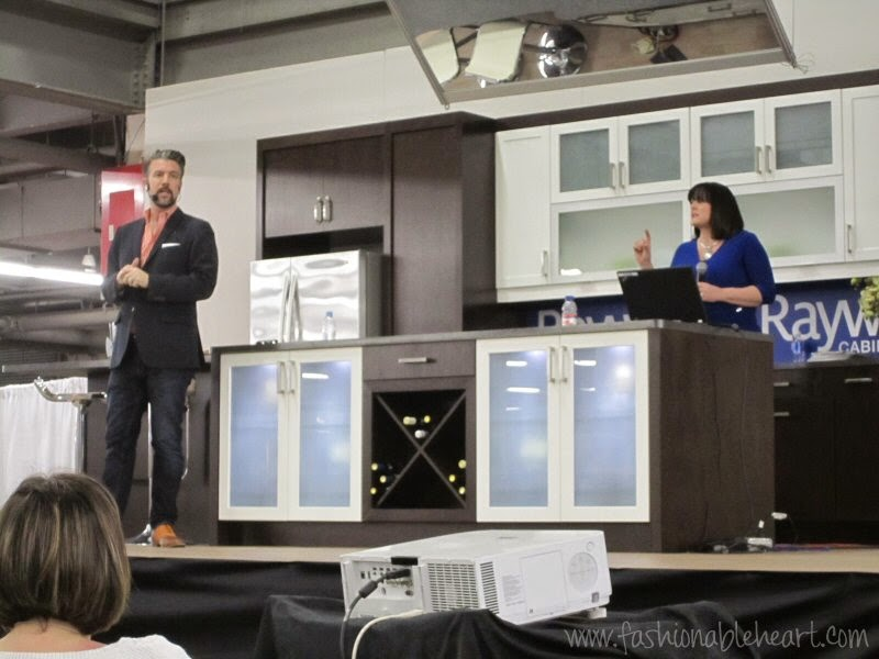toronto national home show designer andrew pike celebrity kitchens