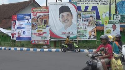 Baliho Pilkada Liar 'Gentayangan', Panwaslu Minta Pemda Lakukan Eksekusi