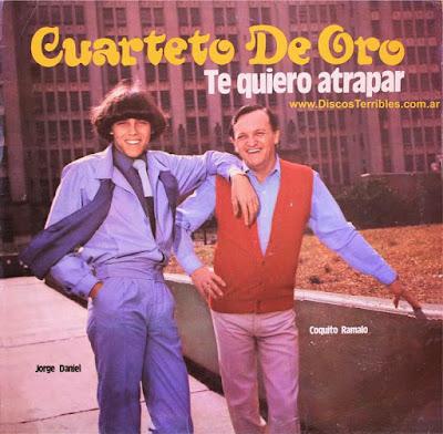 Cuarteto de Oro - Te quiero atrapar / Discos Terribles