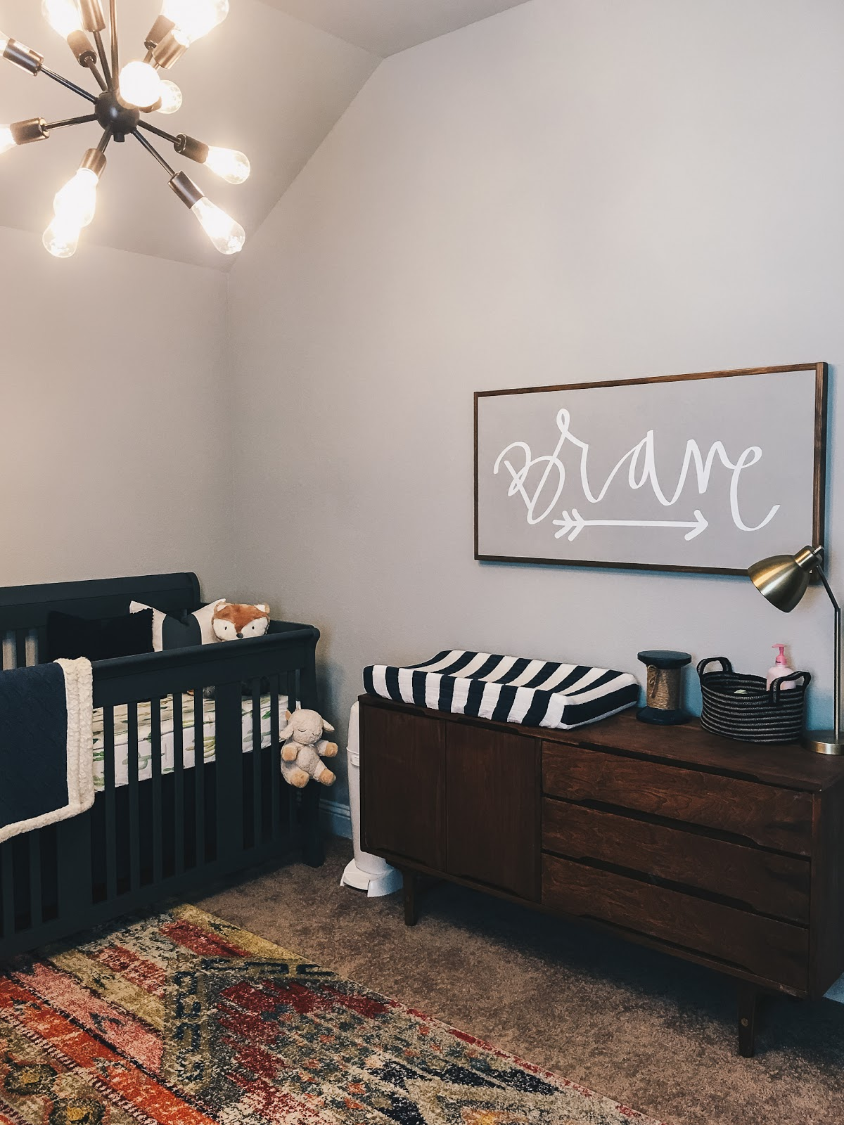 Twin Boho Aztec Nursery