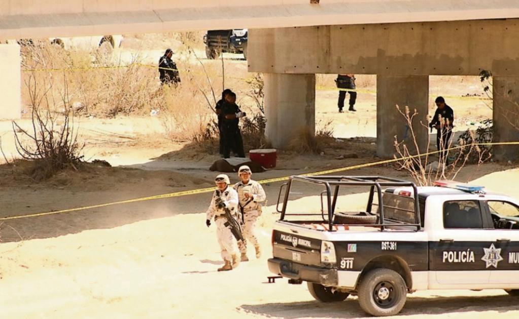 Ademas de 18 ejecutados, descubren casquillos y armas en narcofosa del CDS
