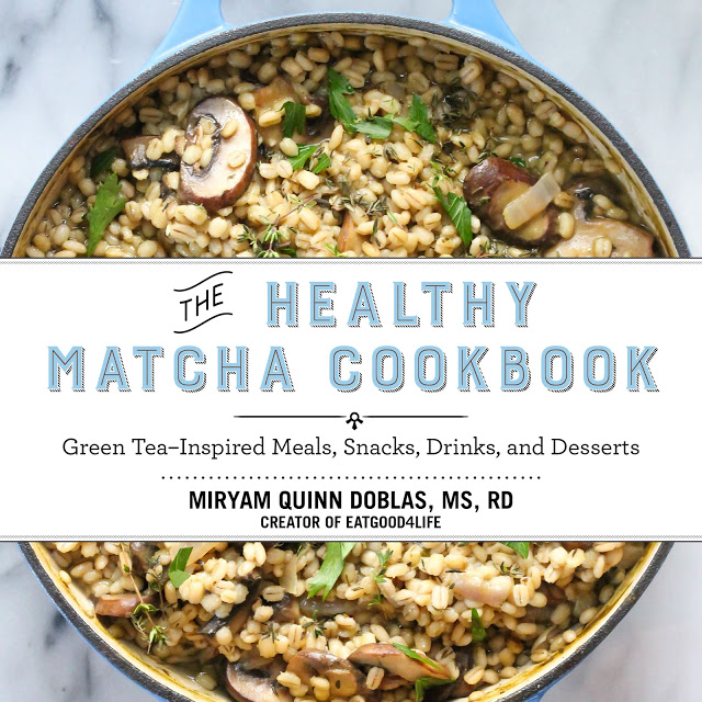 The Healthy Matcha Cookbook by Miryam Quinn-Doblas