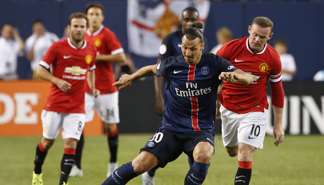 Paris Saint-Germain forward Zlatan Ibrahimovic confirms Premier League contact