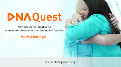 WOW: MyHeritage Launches DNA Quest