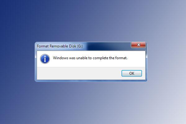 "Cara Memperbaiki ""Windows Was Unable To Complete The Format"" Pesan Error"