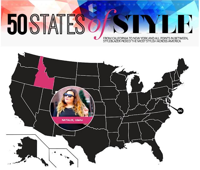 50 states of style, idaho fashion blogger, boise, idaho, natalie craig, natalie in the city, chicago, plus size fashion, style blazer