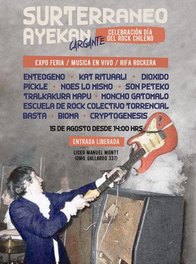 Celebran Día del Rock Nacional en Puerto Montt