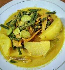 Resep Teri Campur Kentang,Petai dan Kacang Panjang