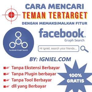 Cara Mencari Teman Tertarget di Facebook GRATIS dan Script Add Friend Masal Otomatis - igniel.com