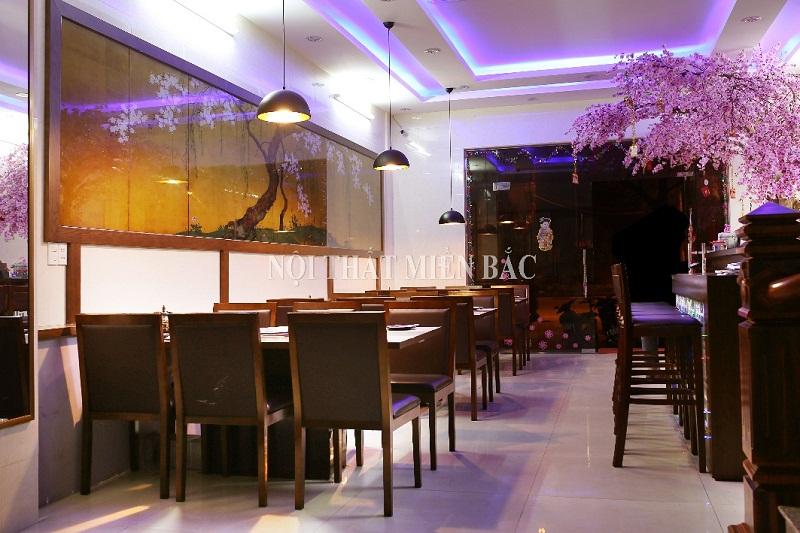 Không gian thi công nhà hàng Nhật Bản Fuijyama