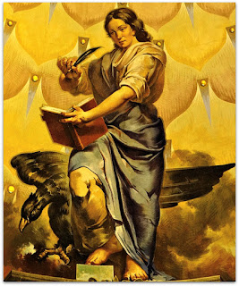 'Os Quatro Evangelistas - São João', Aldo Locatelli (1957) - Igreja Santa Teresinha