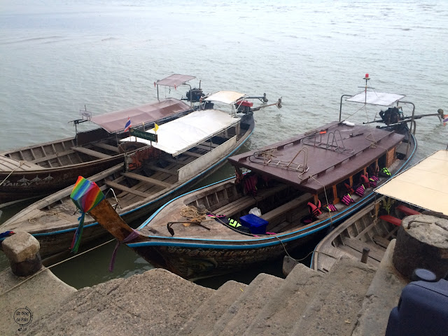 Ao Nammao (muelle) - Krabi, Tailandia