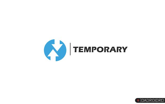 Cara pasang TWRP sementara (Temporary) untuk kebutuhan khusus