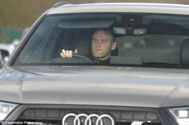 Wayne Rooney bị bắt ở Manchester