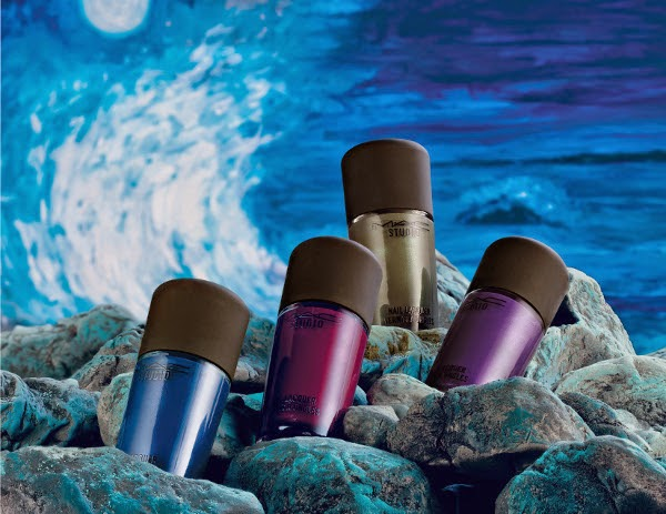 MAC A Novel Romance Fall 2014 Studio Nail Lacquers