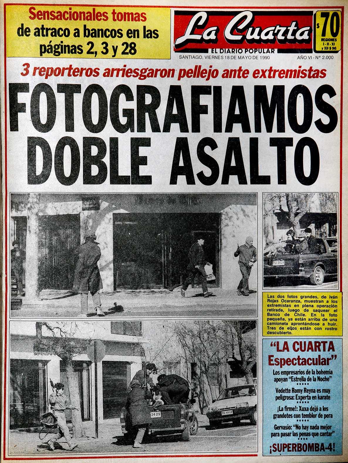 Ejemplo Del Tipo De Portada Que El Diario Usó Durante Los 80 Y Hasta  Principios De Los 90