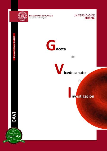 nº 2 (Dic.17) de la Gaceta de Investigación (GAVI)