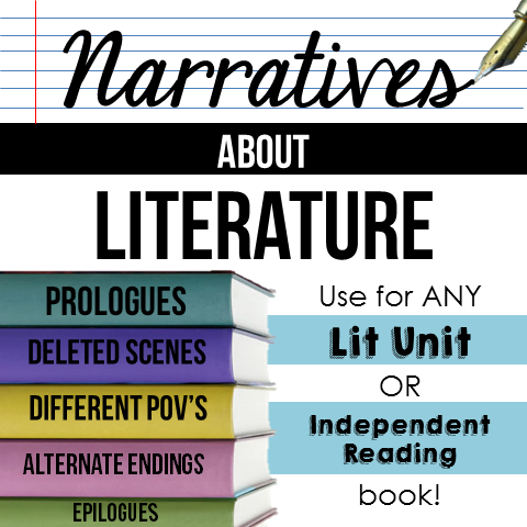 Do your secondary students sometimes wish they could write alternate endings to literature? This post describes my Narratives about Literature resource, which allows students to use literature as mentor text for creative writing. Click through to learn more about it!