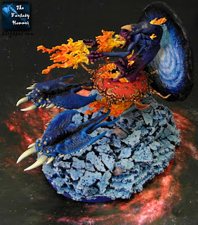 Chaos Daemons Burning Chariot of Tzeentch WiP 9