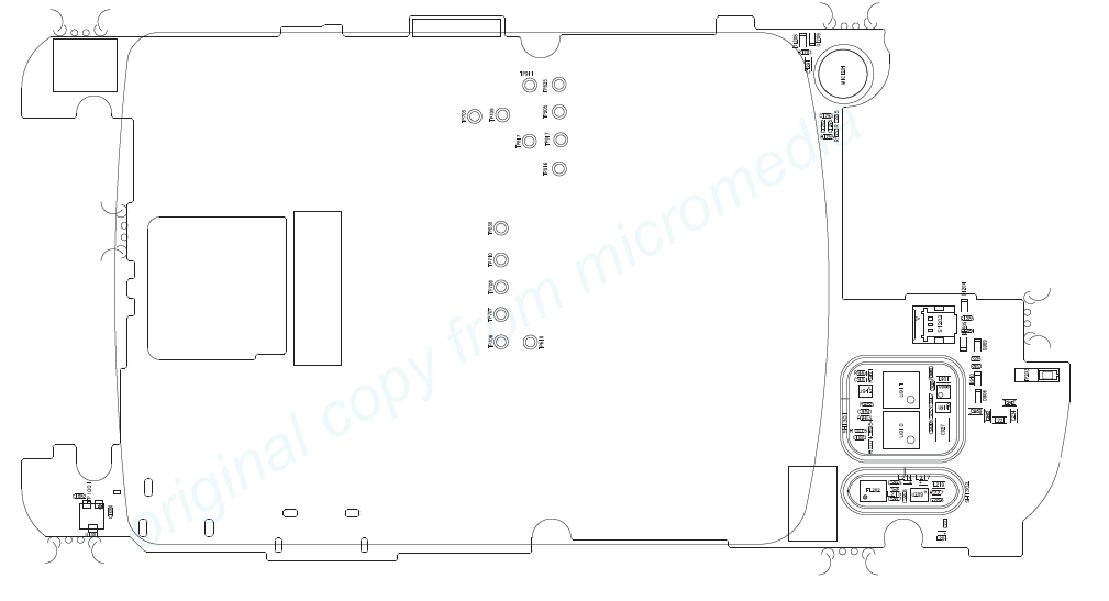 Blackberry 8230, 9220, 9320, 9790, 9780, Z10 schematic