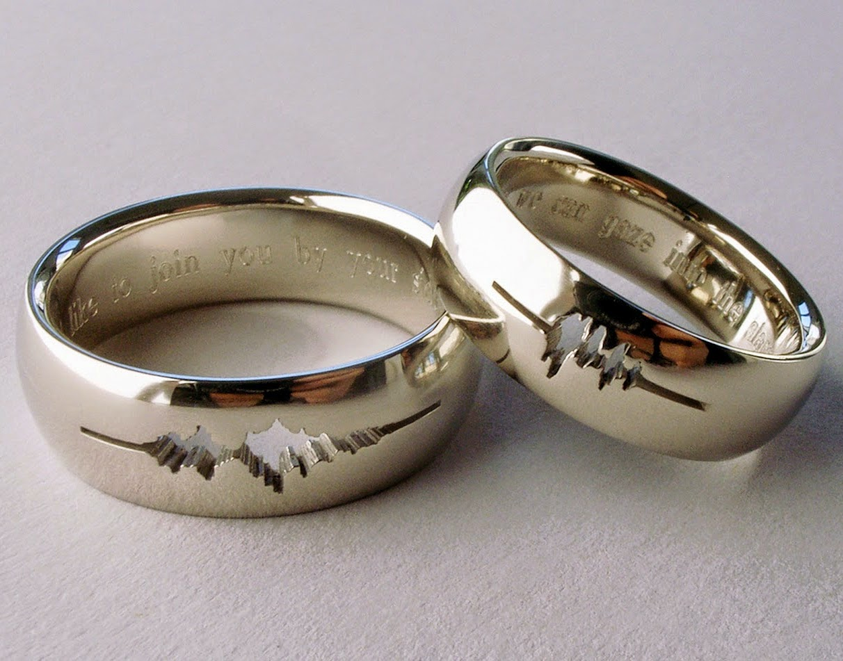 5 non traditional men s wedding bands day sparklers blog - Traditional Wedding Rings