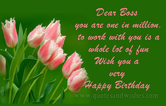 Top 31 Images Of Birthday Wishes for Boss Wishes Quotes Pictures – Happy Birthday Greetings to Boss