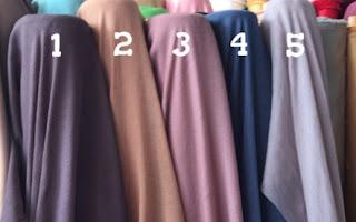 Harga Kain untuk Jilbab