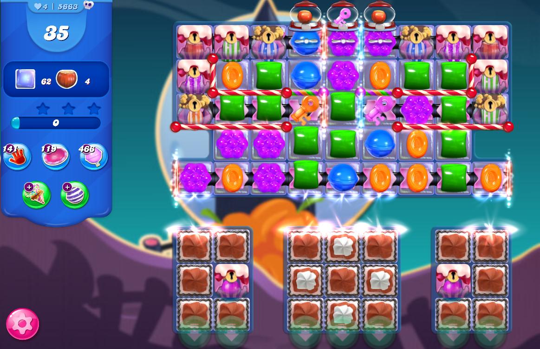 Candy Crush Saga level 5663