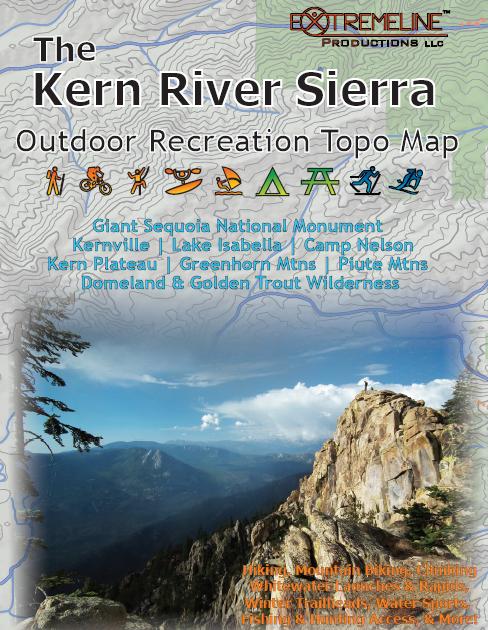 The Mud Blog The Kern River Sierra Adventure Map