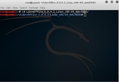 Cara install LibreOffice pada Kali Linux, Ubuntu, Linux Mint, Xubuntu, Kubuntu, Debian, Elementary OS.