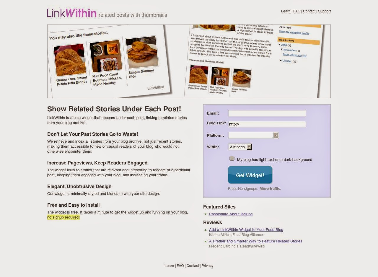 THIS WIDGET GREATLY HELPS BLOGGERS TO INCREASE READERSHIP