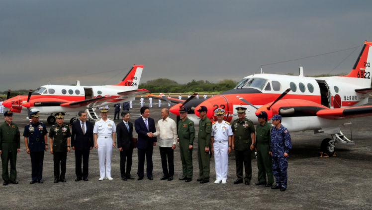 GOOD NEWS:  Japanese Government to Donate the Lease TC-90 Aircraft to the Philippine Navy