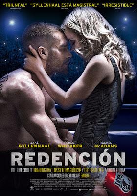 Cartel oficial español: Redención (Southpaw) (2015)