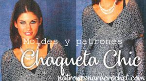 Chaqueta Chic a crochet / Moldes y patrones