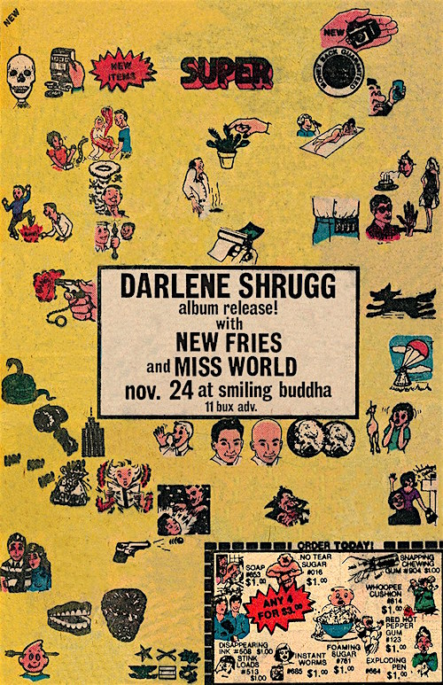 Darlene Shrugg album release @ Smiling Buddha, Friday