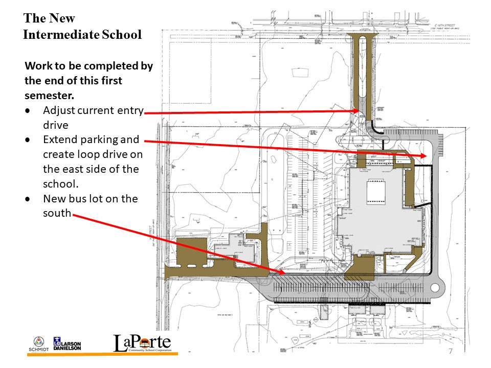 Laporte community schools projects august board update on for Laporte community