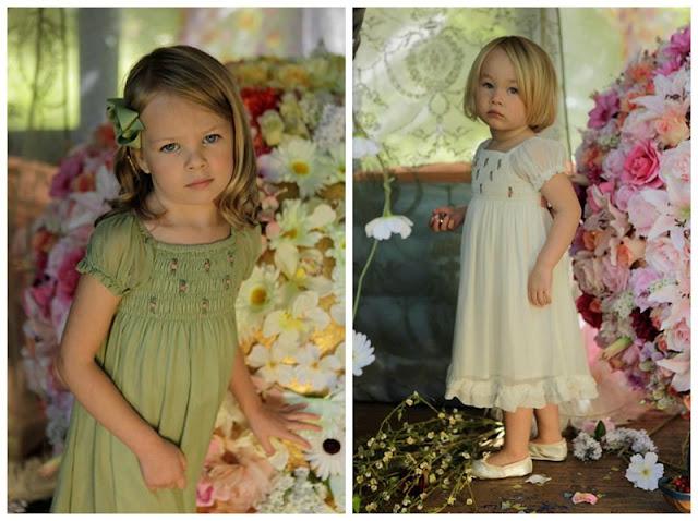 Ethereal Boho Bridesmaid & Flower Girl Dresses