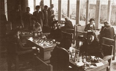 Segunda ronda del V Campeonato Femenino de Ajedrez de Cataluña 1942